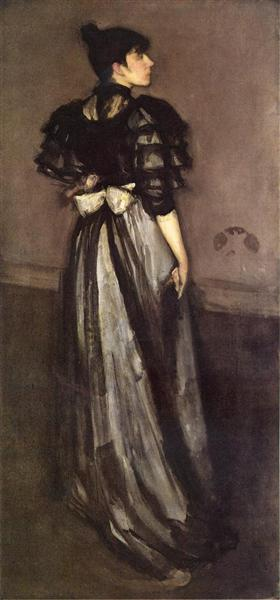 Mother of Pearl and Silver: The Andalusian, 1888 - 1890 - James McNeill Whistler