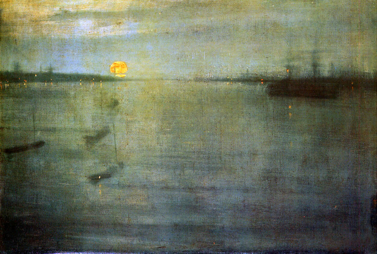 詹姆斯·麦克尼尔·惠斯勒James McNeill Whistler - 水木白艺术坊 - 贵阳画室 高考美术培训