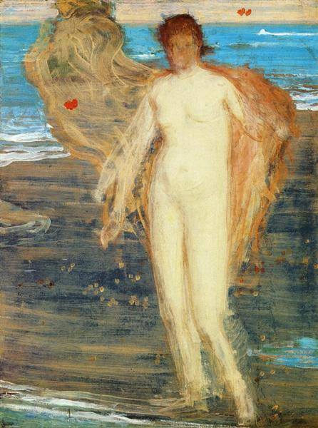 Venus with Organist, c.1868 - James McNeill Whistler