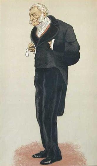 Caricature of William Bathurst, 5th Earl Bathurst, 1873 - James Tissot