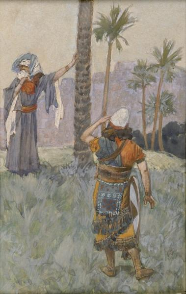Deborah Beneath the Palm Tree, c.1896 - c.1902 - James Tissot