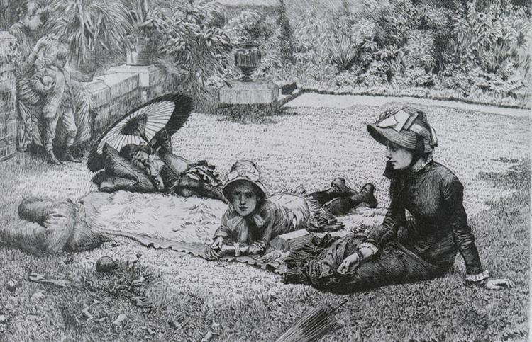 In full sun, 1881 - James Tissot