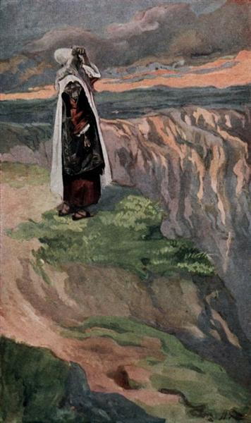 Moses Sees the Promised Land from Afar - James Tissot