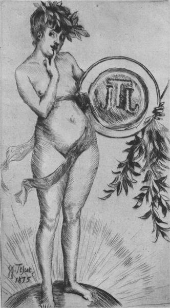 Premier frontispiece, 1875 - James Tissot
