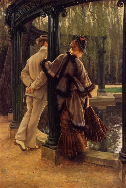 Quarrelling, c.1874 - c.1876 - James Tissot
