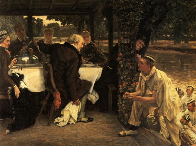 The Prodigal Son In Modern Life, the Fatted Calf, c.1882 - James Tissot