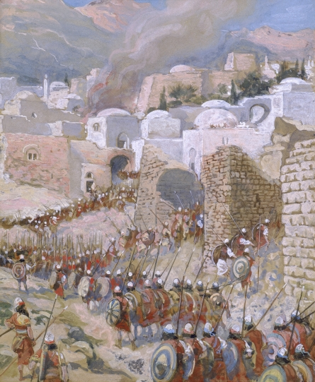 The Taking of Jericho, c.1896 - c.1902 - James Tissot