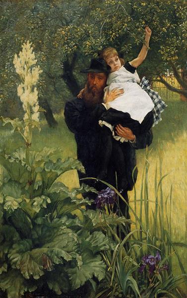 The Widower, 1877 - James Tissot