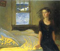 If Once You Have Slept on an Island - Jamie Wyeth