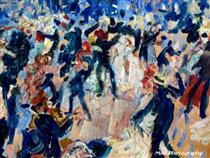 Study of the Bal Tarbarin - Jan Sluyters