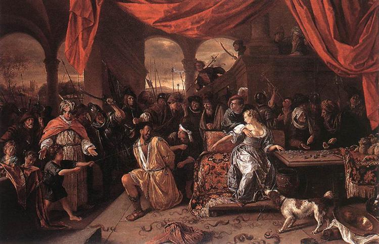 Samson and Delilah, 1667 - 1670 - Jan Steen