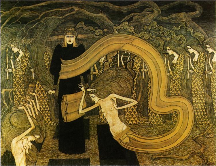 Fatality, 1893 - Jan Toorop