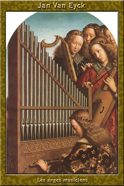 The Ghent Altar (detail) - van Eyck Jan