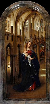 The Madonna in the Church - Jan van Eyck