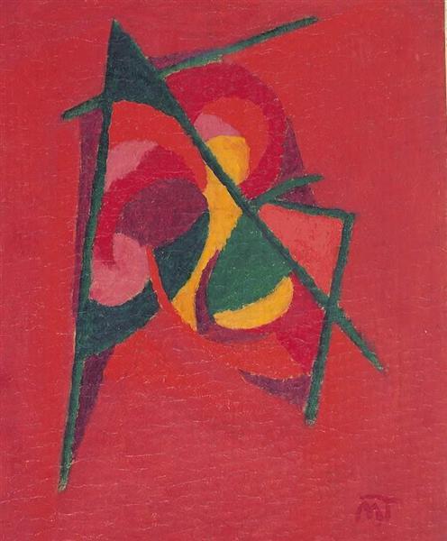 Composition, 1922 - Янош Маттіс-Теуч