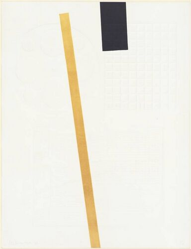 Yellow and Black Line, 1968 - JCJ Vanderheyden