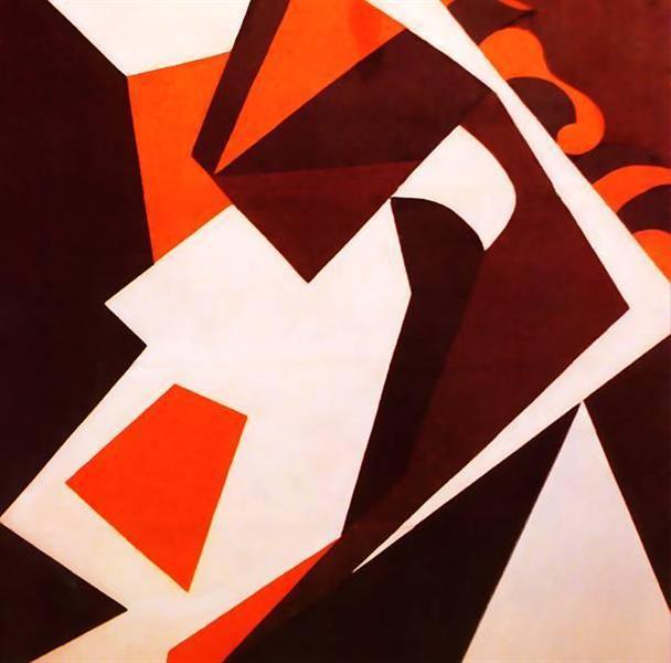 Геометрические формы, 1914 - Жан Арп