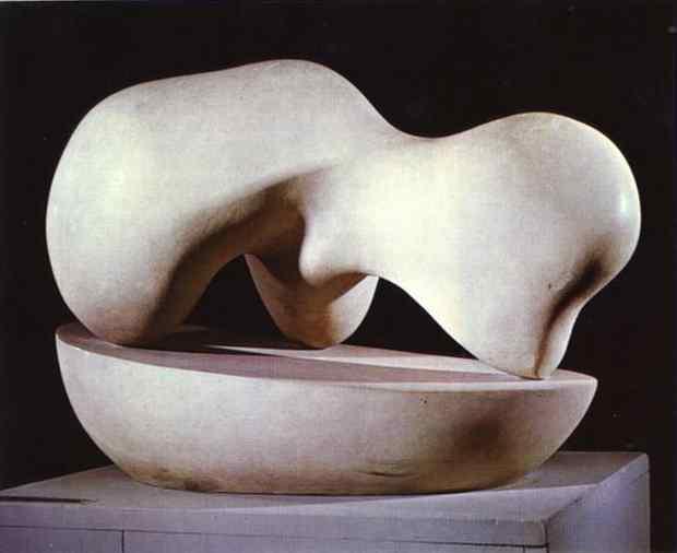 Human Concretion, 1933 - Hans Arp