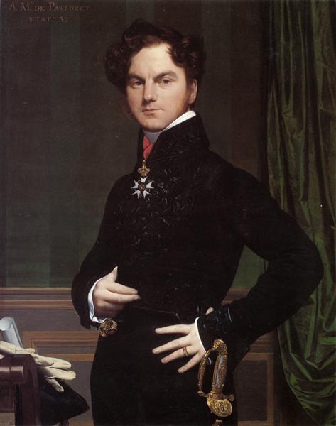Amedee-David, the Comte de Pastoret, 1823 - 1826 - Jean Auguste Dominique Ingres