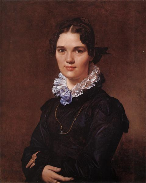 Mademoiselle Jeanne Gonin, 1821 - Jean Auguste Dominique Ingres