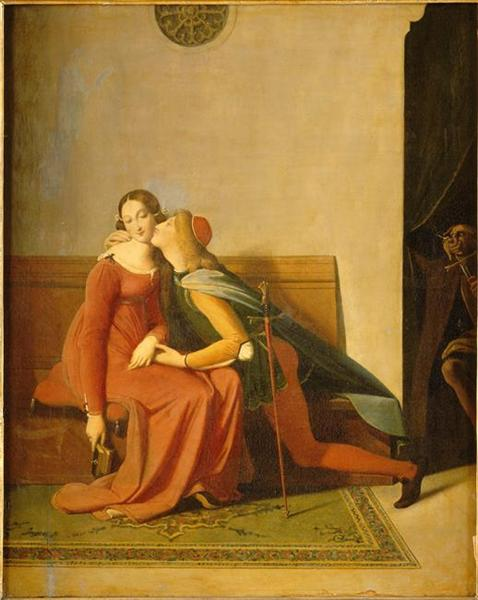 Paolo and Francesca - Jean Auguste Dominique Ingres