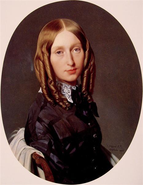 Portrait of Madame Frederic Reiset, 1846 - 1847 - Jean-Auguste-Dominique Ingres