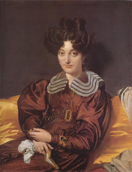 Portrait of Madame Marcotte de Sainte-Marie, 1826 - Jean Auguste Dominique Ingres