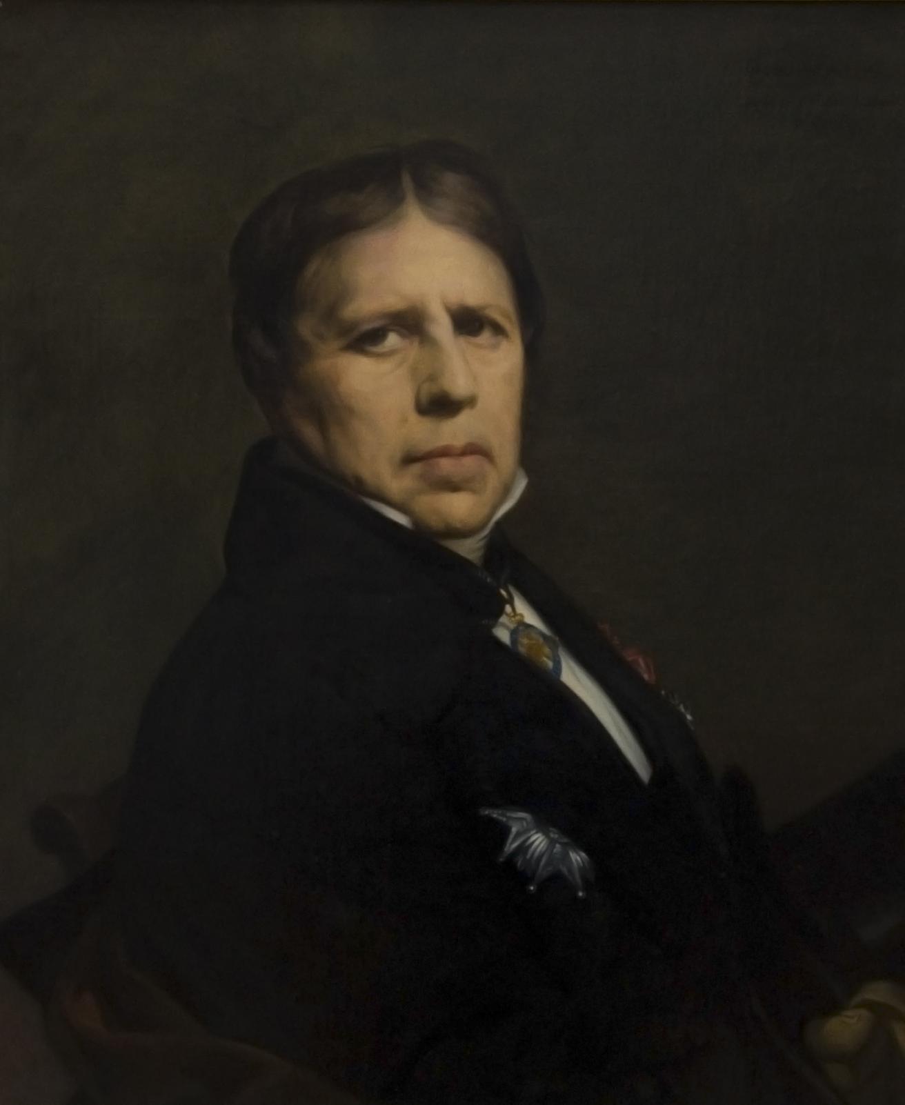 Jean auguste dominique ingres self portrait