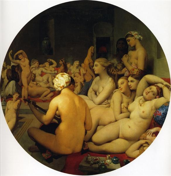 The Turkish Bath, 1863 - Jean Auguste Dominique Ingres
