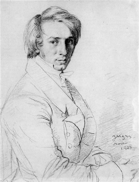 Ursin Jules Vatinelle - Jean Auguste Dominique Ingres
