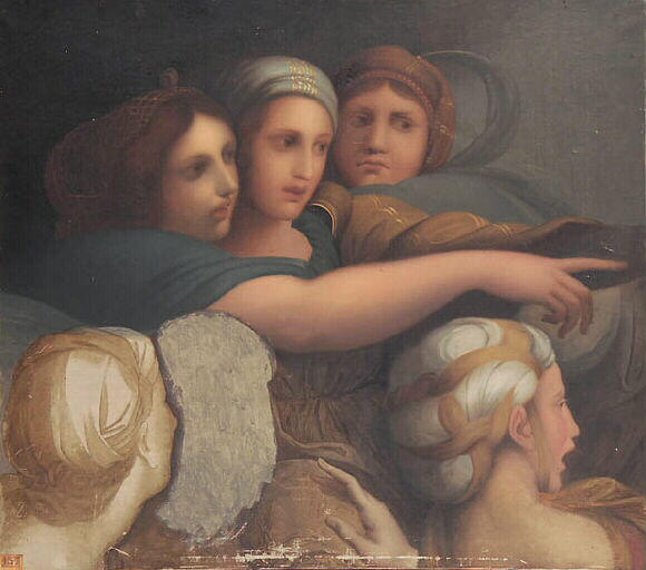 Women's Group, 1867 - Jean Auguste Dominique Ingres