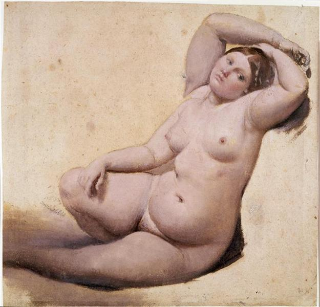 Woman with Three Arms - Jean Auguste Dominique Ingres