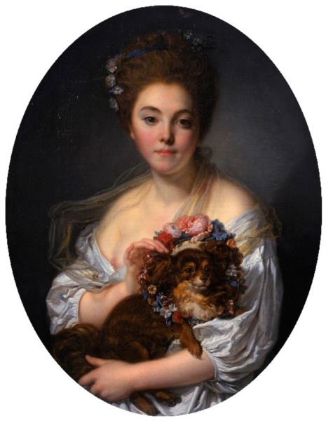 Madame de Porcin, 1774 - Жан Батіст Грьоз