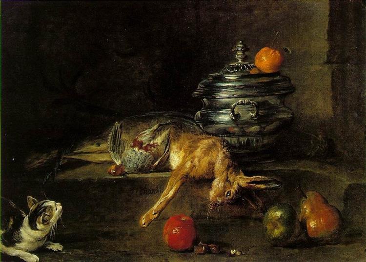 The Silver Tureen, 1728 - Jean-Baptiste-Simeon Chardin