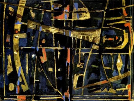 Scene mystique, 1957 - Жан Бертоль