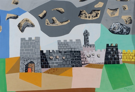 Jerusalem, 1950 - Jean David