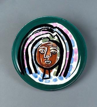 Portrait of a Woman (Ceramic), 1959 - Jean David