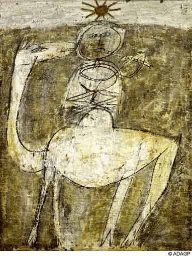 It flute on the bump, 1947 - Jean Dubuffet