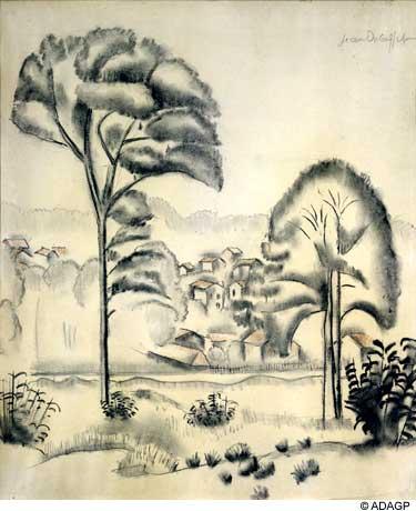 Landscape of Algeria, 1919 - Jean Dubuffet