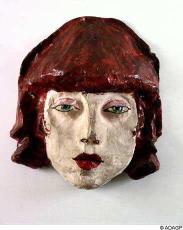 Lili (masque), 1936 - Jean Dubuffet