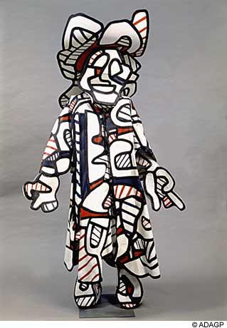 Nini the Smirker (Minaude), 1973 - Жан Дюбюффе