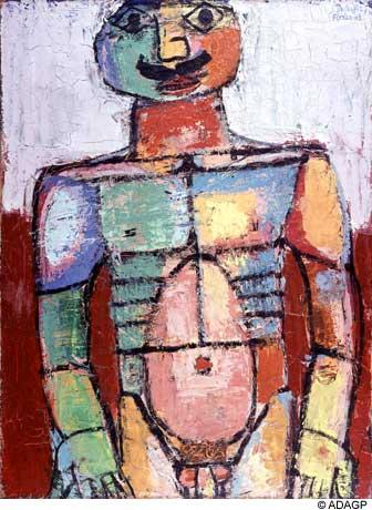 Nu bedecked - Jean Dubuffet