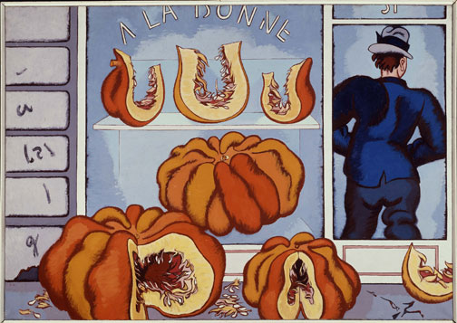 Big Pumpkin Event, 1948 - Jean Helion