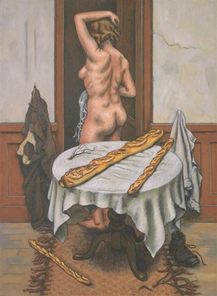 Nude with Loaves, 1952 - Jean Helion