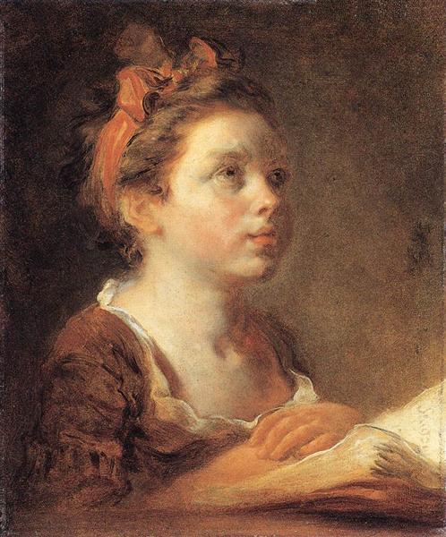 A Young Scholar, c.1775 - 1778 - Jean-Honore Fragonard