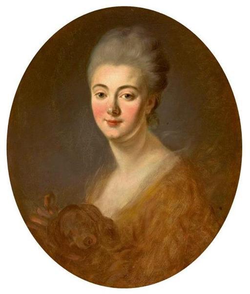 Portrait of Elisabeth Sophie Constance de Lowendhal, 1775 - 1785 - Jean-Honore Fragonard