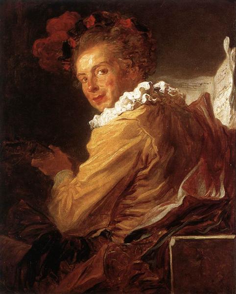 Portrait of Monsieur de la Breteche, brother of the Abbot of Saint Non, 1769 - Jean-Honore Fragonard