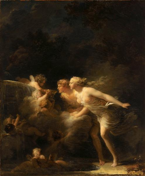 The Fountain of Love, c.1785 - Jean-Honore Fragonard