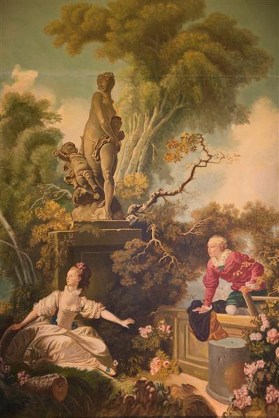 The Progress of Love, 1771 - Jean-Honore Fragonard