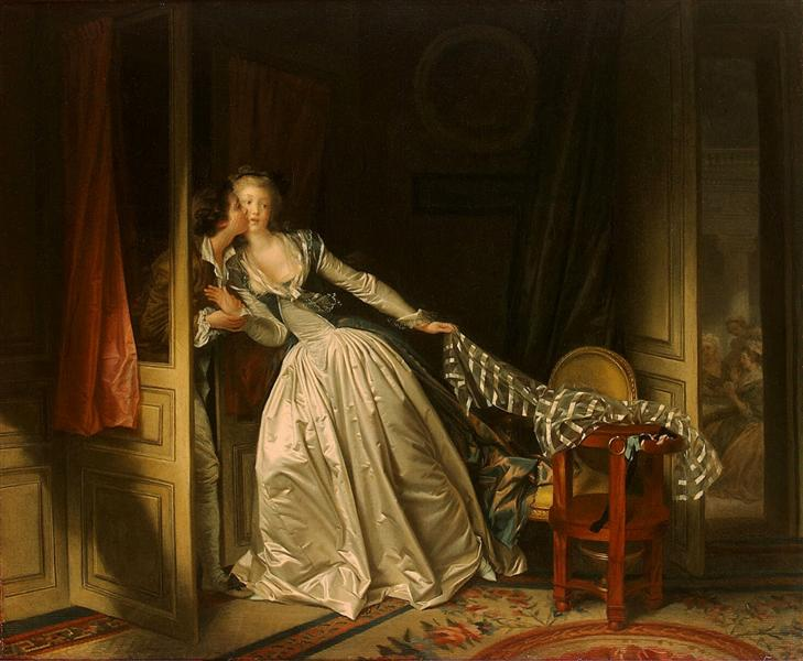 The Stolen Kiss, 1788 - Jean-Honore Fragonard